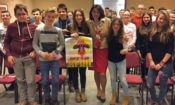 Elementary School Students Visit Embassy (State Dept.)