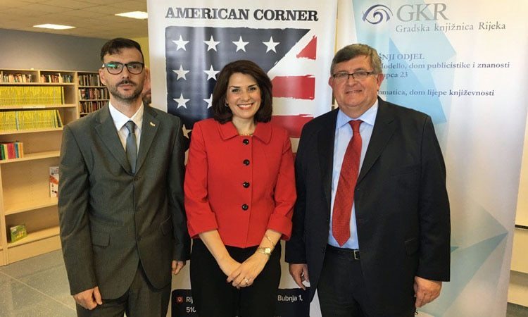 Visit Our Newly Opened American Corner in Rijeka (State Dept.)