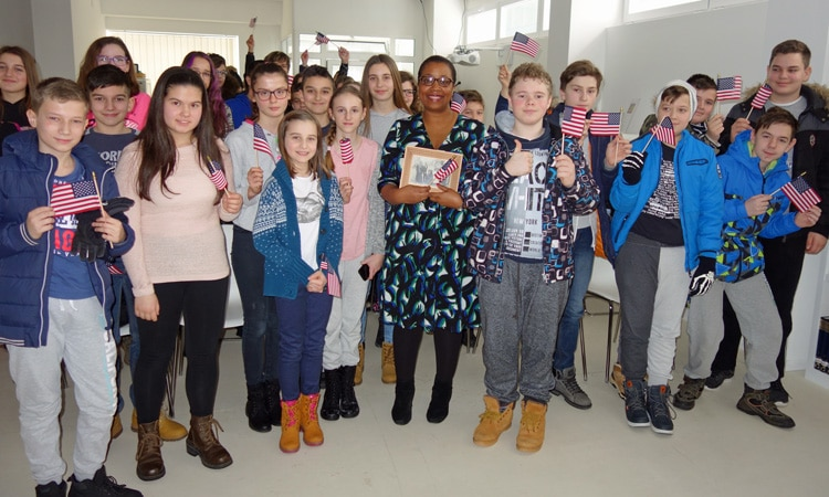 Black History Month Celebrated at American Corners Osijek and Vukovar (State Dept.)